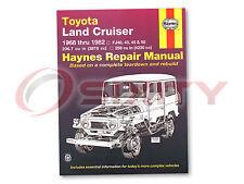 Haynes Toyota Land Cruiser FJ40 43 45 55 60 68-82 Repair Manual 92055 Shop rp