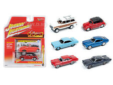 CLASSIC GOLD RELEASE 1 SET A SET OF 6 CARS 1/64 BY JOHNNY LIGHTNING JLCG001A