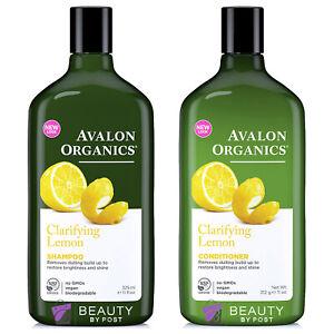 Avalon Lemon Clarifying Shampoo and Conditioner DUO SET 325ml and 312g