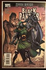 Black Panther issue #2 VF/NM 1st Print Marvel Hudlin J Scott Campbell Cover