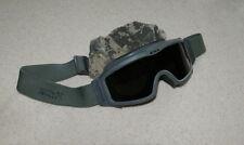 Oakley ESS ARMY SAND WIND DUST Ballistic GOGGLES Foliage Dark Lens