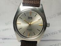 Vintage Hmt Akash Mens Analog Dial Mechanical Handwinding Wrist Watch VG657 Z