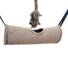 Pet Hamster Hammock Tunnel Ferret Rat Squirrel Hanging Cage Nest Bed Swing Toys