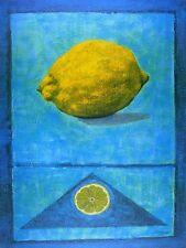 Madjid Citron Poster Art Imprimé Image 80x60cm
