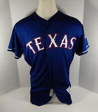 Ryan Rua GAME USED JERSEY Texas Rangers MLB AUTHENTIC Baseball Size 46 XL