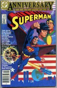 Superman #400-1984 fn+ 6.5 Giant Size Jack Kirby Jim Steranko Frank Miller