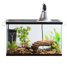 Reptile Habitat Starter Kit Cage Tank Bask Light Filter 10 Gal Turtle Snake Lid
