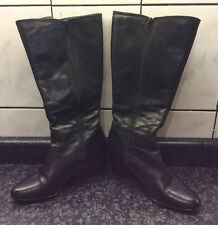 Tamaris Ladies Boots Black Size 6 @@LOOK@@