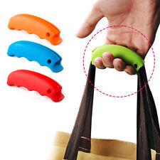 2pcs Bolsa de compras de silicona agarre de la manija fácil de llevarar