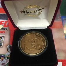 Mark McGwire Highland Mint One Troy Ounce Bronze Medallion 70th Cardinals /25000