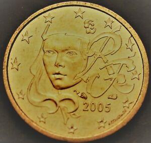 France Euro cent, 2005 Gem Unc~Human Face