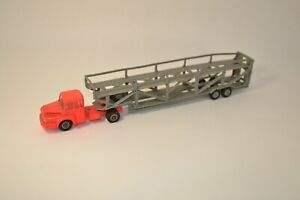 NOREV - MICRO NOREV - tracteur unic avec transport automobile - echelle 1/86 -