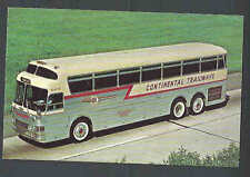 Ca 1965 PPC* CONTINENTAL TRAILWAYS SILVER EAGLE BUS MINT