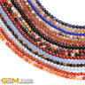 """6mm Natural Round Assorted Stone Loose Beads For Jewellery Making Strand 15"""" AU"""