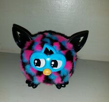 Furby Baby Furbling Creature Black Pink Blue Works Great 2013 RARE critter EUC