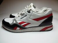Reebok Classic Leather Athletic Shoes White / Red / Black Mens Size 13