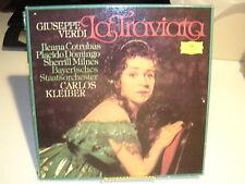 Giuseppe Verdi La Traviata Kleiber Deutsche Grammophon 2707 103 VG+ / VG