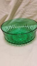 Bowl Green Date-Lined Glass (1950s, 1960s & 1970s)