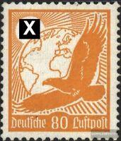 Deutsches Reich 536y, waagerechte Gummiriffelung gestempelt 1934 Steinadler