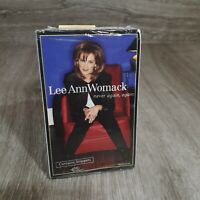 Lee Ann Womack Cassette Single BRAND NEW & SEALED Never Again, Again