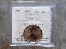 2005 Terry Fox One Dollar - MS 64