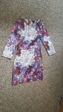 Lana Del Rey's H&M Dress, pink and purple pattern, fitted size US 4 EU 34.