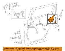 TOYOTA OEM Front Door-Lock Actuator Motor 6904002440