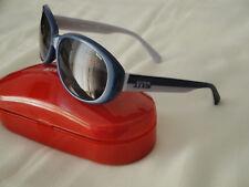 MISS SIXTY occhiali da sole stile vintage donna BLU GRIGIO