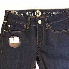 "Notify NFY Ladies Jeans 401 Size 25 Dark Rinse Leg 35"""