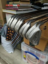 PING Eye Iron Set Golf Club 2 thru PW, SW Black dot Reg Flex