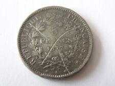 PIECE HERCULE  5 FRANCS 1877 COPIE ANCIENNE