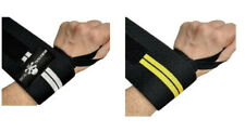 Weightlifting Wrist Wraps Wrist Straps w/ Thumb Loops Exercise Training Support