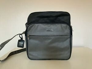 Vintage Adidas Leather Bag - Made in Argentina - New