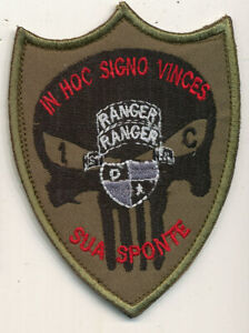 Ranger 1st Battalion Signal unit special operations patch Afghan made