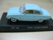 Ford Taunus Badewanne 1960 Detailcars Detail cars 1/43 181