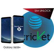 Samsung Galaxy AT&T Cricket S9 S9+ SIM Network Unlock Remote Service PERMANENT!