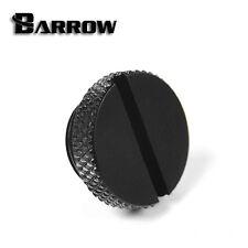 "Barrow G1 / 4 ""NERO OPACO BASSO PROFILO STOP Spina / blanking plug - 116"
