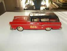 Vintage Bandai Japan 1956 Ford 2 Door Station Wagon Friction Toy Car 12 Inches!