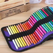 50pcs Art Drawing Colored Pencil Set With Kit Bag Drawing Sketching Charcoal New