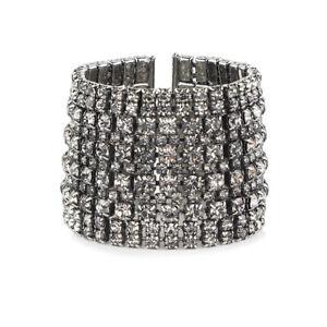 Tom Binns Crystal Encrusted Bracelet