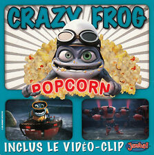 "CD SP 2 T CRAZY FROG  ""POP CORN"""