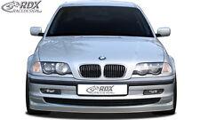 RDX SPOILER Anteriore BMW e46 Berlina Touring -02 spoiler labbro Approccio Frontale Anteriore