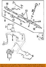 Toyota Oem 03 08 Corolla Steering Pressure Hose 4441002100 44410 02100 Fits