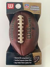 Nfl tackified Composite Football Official Size Wilson Brand Needs Air