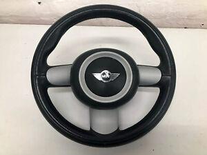 BMW Mini Cooper S JCW 3 Spoke Leather Steering Wheel & Airbag  R53 R52 R50