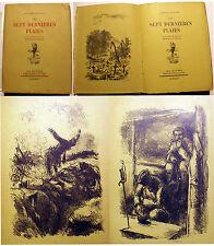 DUHAMEL/LES 7 DERNIERES PLAIES/EO/1933/8 LITHOS DE B.MAHN/RARE EX SUR VELIN VERT