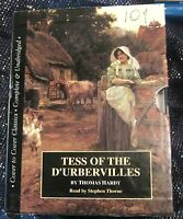 Tess of the D'Ubervilles Thomas Hardy read by Stephen Thorne 12x audio casettes