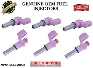6x Fuel Injectors OEM DENSO for Toyota Avalon & Lexus GS450h GS350 IS F IS350