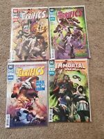 TheTerrifics #1-3 & Immortal Mem #1 (DC New Age of Heroes, 2018) 4 comic lot