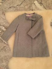 Crewcuts Girls Wool Coat with Bow - Size 3T
